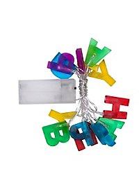 Lichterkette Happy Birthday 160 cm