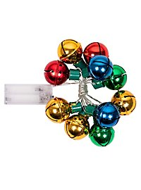 Lichterkette Weihnachtsglöckchen