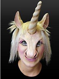 Licorne Demi-masque en latex