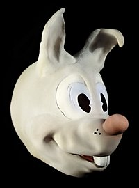 Lièvre de bande dessinée Masque en mousse de latex