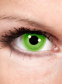 Light green contact lenses