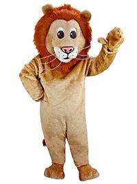 Lion de dessin animé Mascotte