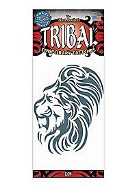 Lion Tribal Temporary Tattoo