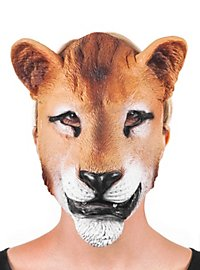 Lioness Latex Half Mask