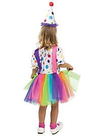 Little Dot Clown Child Costume