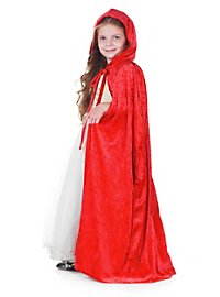 Little Red Riding Hood cape for children