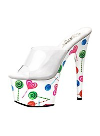 Lollipop Schuhe weiß