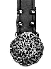 Long Celtic Belt black