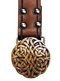 Long Celtic Belt brown