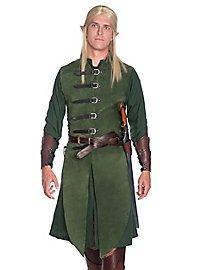 Long gilet sans manche d'elfe de la forêt