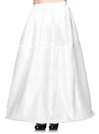 Long Hoop Skirt white