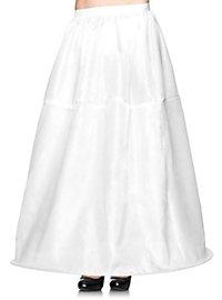 Long Hoop Skirt white