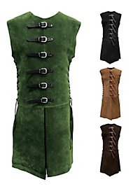 Leather jerkin  with buckles - Huntsman