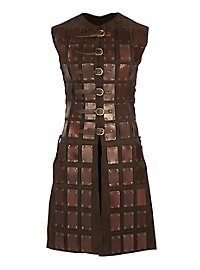 Leather Brigandine - Adventurer brown
