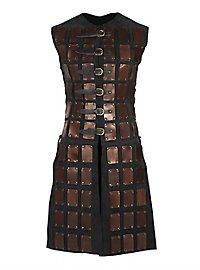Leather Brigandine - Adventurer brown-black