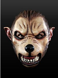 Loup-garou de cartoon Masque en latex
