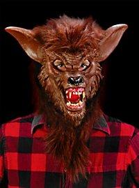 Loup garou marron Masque