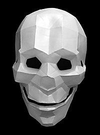 Low Poly Totenkopf Maske