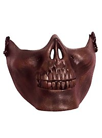 Lower jaw mask bronze