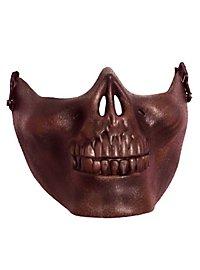 Lower jaw mask bronze