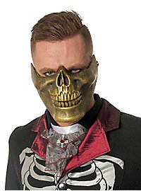 Lower jaw mask gold