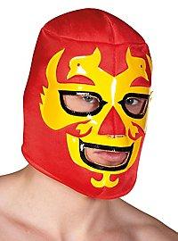 Luchador Maske rot-gelb