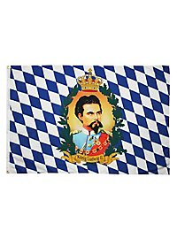 Ludwig II of Bavaria Flag