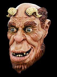Lüsterner Satyr Maske aus Latex