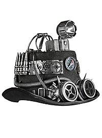 Luftpirat Steampunk Hut mit Lampe