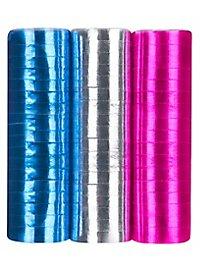 Luftschlangen Disco 3 Stück