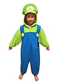 Luigi Kigurumi child costume