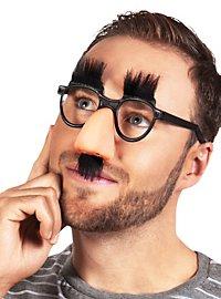 Lunettes avec nez Croucho Marx