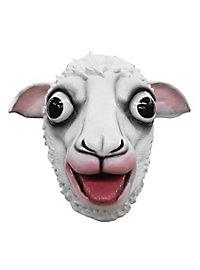 Mad White Sheep Mask