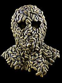 Madenmann Monstermaske aus Latex