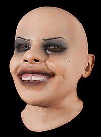 Mädchen Maske aus Schaumlatex