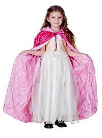 Märchen Umhang für Kinder pink