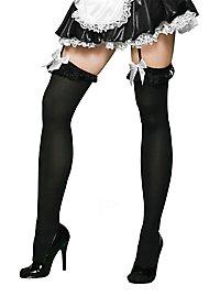 Maid Stockings black-white