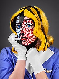 Make-up Set Pop Art Frau