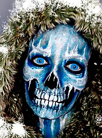 Make-up Set winter skull
