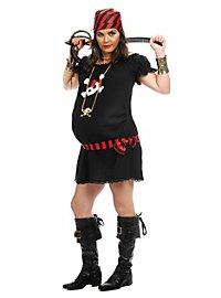 Mama Piratin Kostüm für Schwangere
