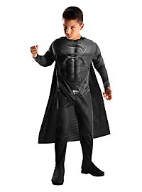 Man of Steel Black Suit Superman Kids Costume