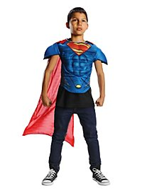 Man of Steel Muscle Shirt Kids Costume