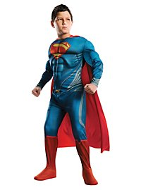 Man of Steel Superman Deluxe Kids Costume