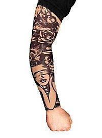Manche peau tatouée killer