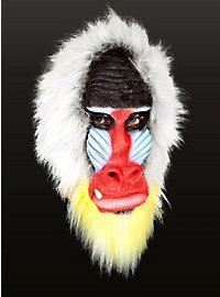 Mandrill Full Mask Made of Latex