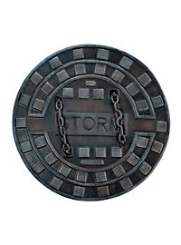 Manhole Cover Shield Foam Weapon