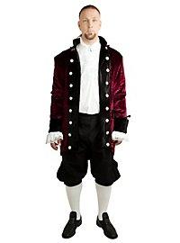 Manteau de baron bordeaux