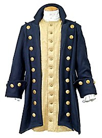 Manteau de pirate bleu