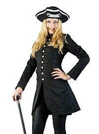 Manteau steampunk court pour femme