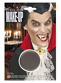 Maquillage fond de teint gris